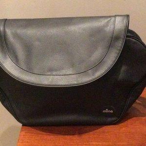 Mima maternity / diaper bag in black